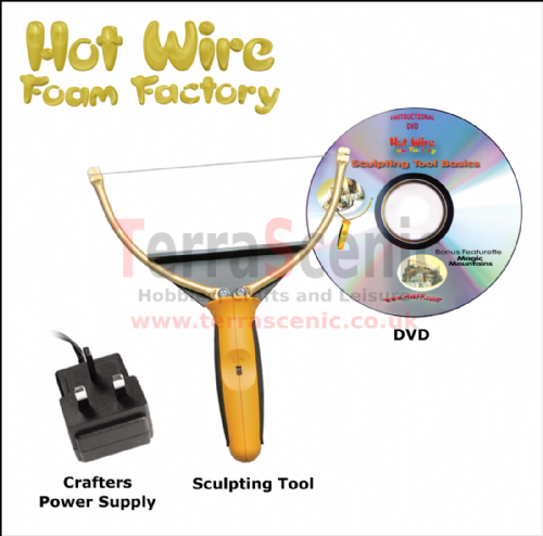 Polystyrene Cutter Sculpting Tool Craft Kit Hot Wire Foam Factory